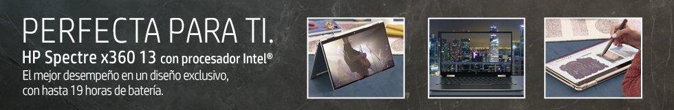 Notebooks HP Spectre x360 13 con procesador Intel | El mejor desempeño en un diseño exclusivo, con hasta 19 horas de batería