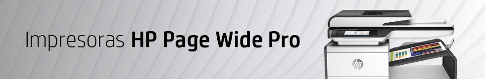 Impresoras HP Page Wide Pro
